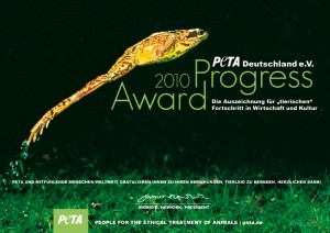 Peta Progress Award